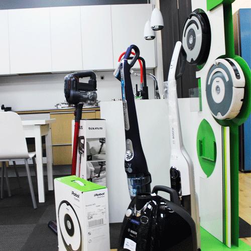 Venta de aspiradoras y robots aspiradores en Donostia